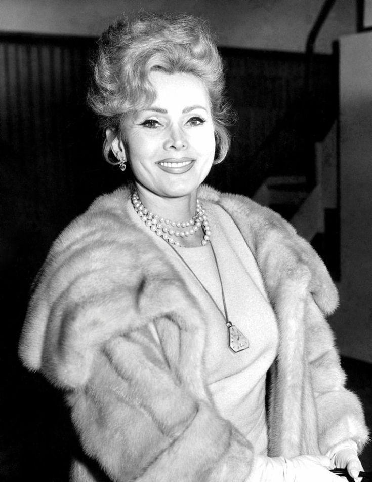Zsa Zsa Gabor (February 6, 1917-December 18, 2016)
