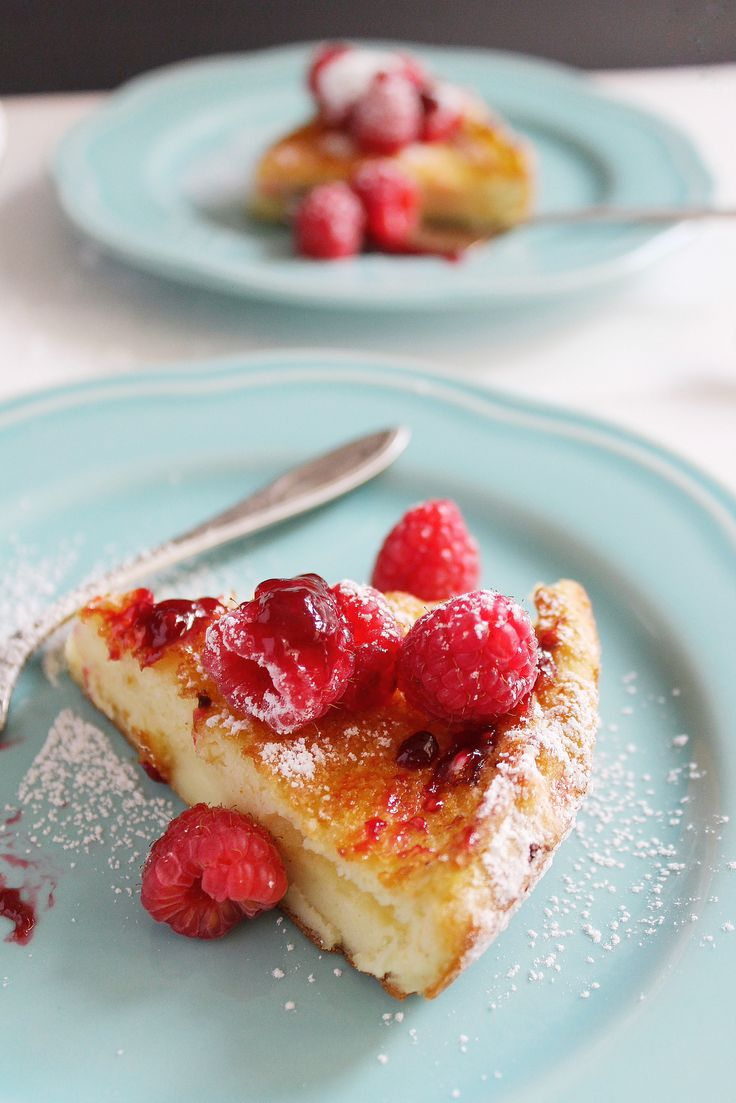 Dutch Baby with Raspberry Maple Reduction | Recipe | Maple ...