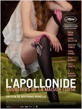 L'Apollonide de Bertrand Bonello — 2,5/5 — De beaux tableaux, des jolies femmes mais pas un scénario très passionnant... 14/12/2012