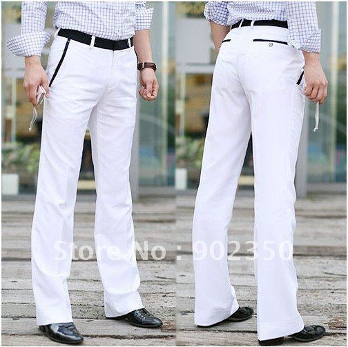 men white dress pants - Pi Pants
