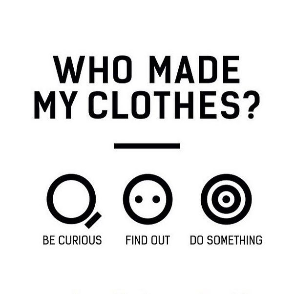 How cool would it be to track the whole supply and production chain of every item in your closet? #whomademyclothes #whomadeyourclothes  Hmmm I should seriously consider this need a d think of a suitable solution