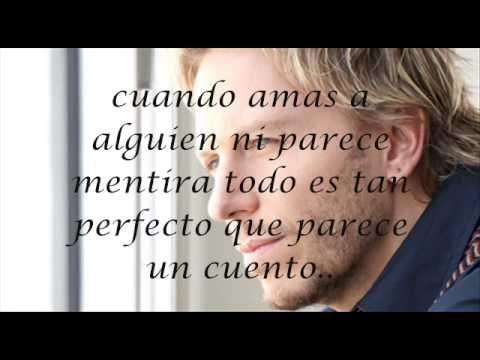 Cuando amas a alguien - Noel schajris (CON LETRA) Se te nota en los ojos en el cuerpo y el alma...♥ Darlo todo es poco...♥