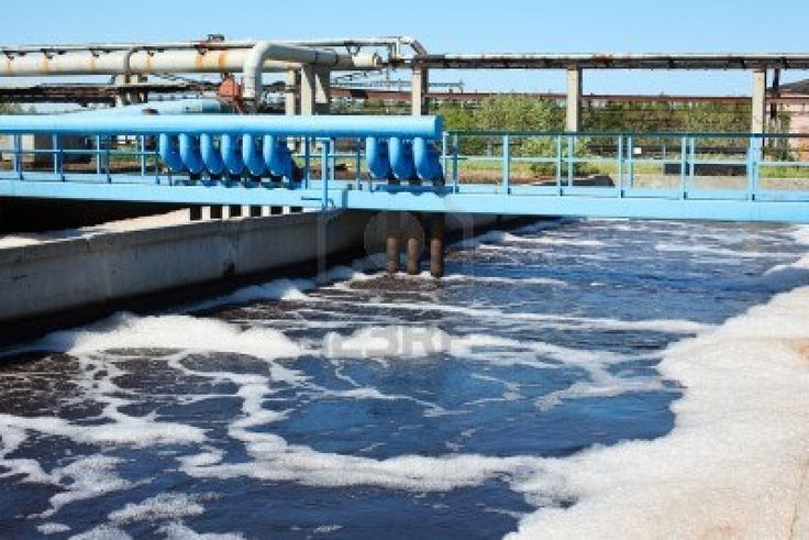 Containerized waste water treatment