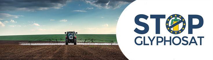 1 Million Stimmen gegen Glyphosat - Machen Sie mit bei unserer Europäischen Bürgerinitiative!