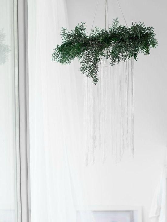 Passion Shake | Christmas series – DIY Dreamy Chandelier | http://passionshake.com