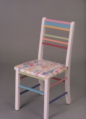 Funky Painted Furniture | Water Colors Found on fineandfunkyfurniture ...