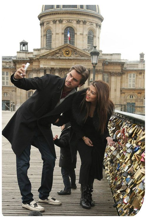 Paris- Love Lock Bridge