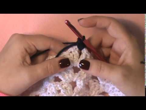 """""""Snowflake Afghan""""- Video 2-Final (snowflake motif)"""