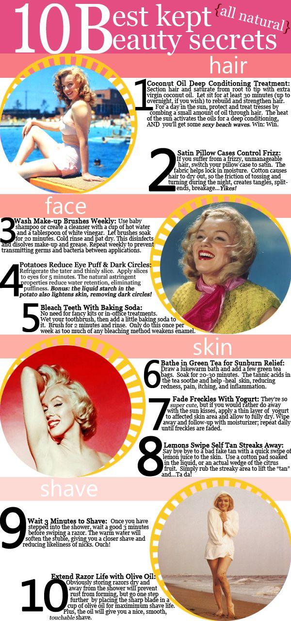 10 Best Kept Beauty Secrets for Your HOTTEST Summer Ever!