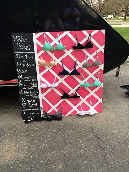 DIY BRA PONG: STAG AND DOE PARTY GAME | mustlovedogs