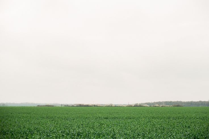 Country side in Burgundy. Photography by Heidi Lau.