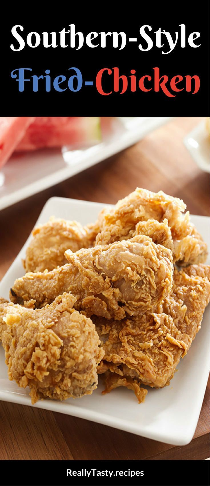 Colonel's Classic Southern Fried Chicken Recipe - Really Tasty Recipes