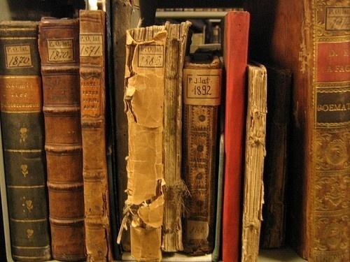pretty old books