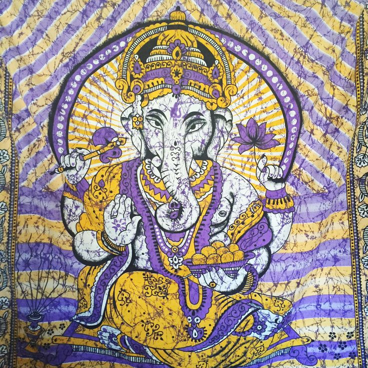 Ganesha Tapestry – Druzy Dreams