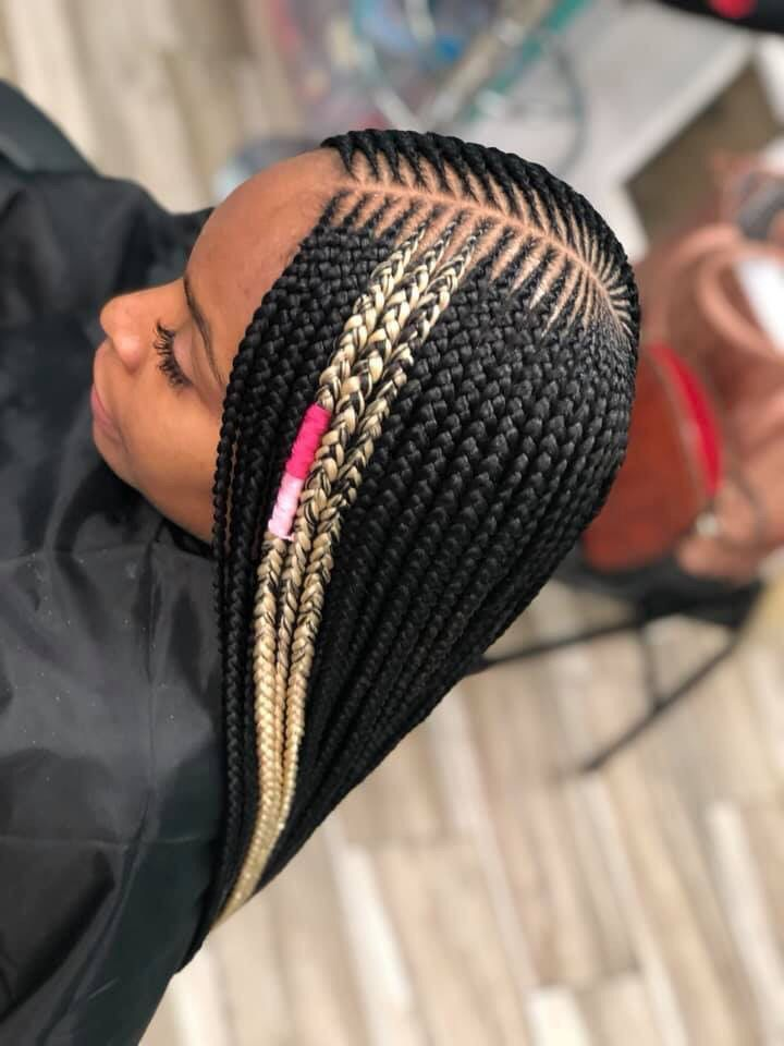 Boxbraids Braided Hairstyles Updo Coiffure Africaine Coiffures Cheveux Noirs