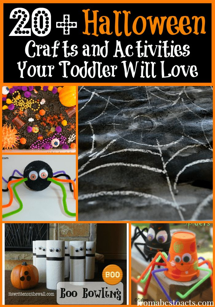 halloween crafts activities your toddler is going to love - Toddler Halloween Craft Ideas