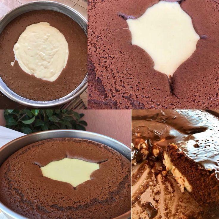 Σοκολατένιο κεικ με κρεμα βανίλια Κολασηηη Εξαιρετικη συνταγή φανταστικό υπέροχο αποτέλεσμα.. Υλικά για την κρέμα ·780 γάλα (4 φλιτζάνια) ·3 κουταλιές σούπας κορν φλάουερ η άνθο αραβοσίτου βανίλια ·2 κουταλιές σούπας αλεύρι γ.ο.χ ·5 κουταλιές σούπας ζάχαρη ·1 βανίλια για το κορν φλάουερ ·λίγο βούτυρο Loading... για το κέικ ·3 αυγά ·1 φλυτζ. ζάχαρη ·μισό …