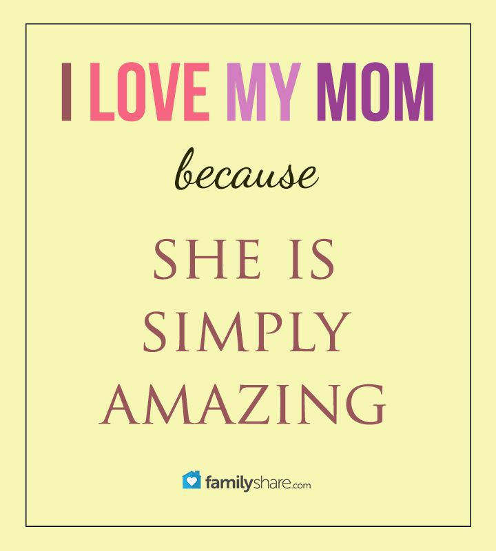 Quotes About How Much I Love My Mom: 25+ Best Ideas About I Love My Mother On Pinterest