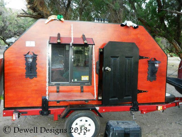 Teardrop Camper Kitchen Designs | The Gypsy Wagon