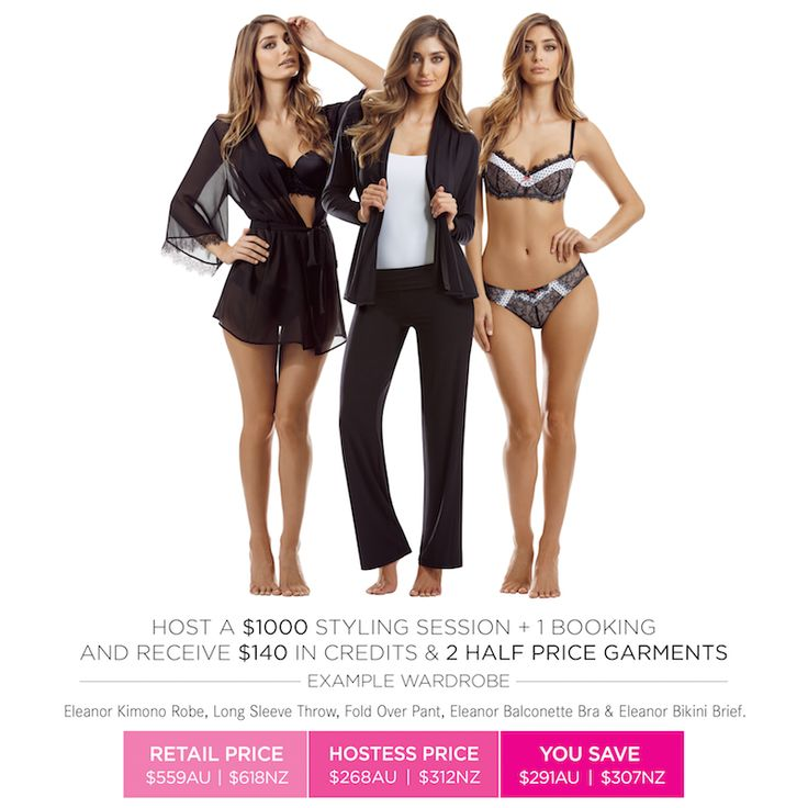 Love rewards? Ask your Stylist about our fantastic Hostess benefits today! www.intimo.com.au