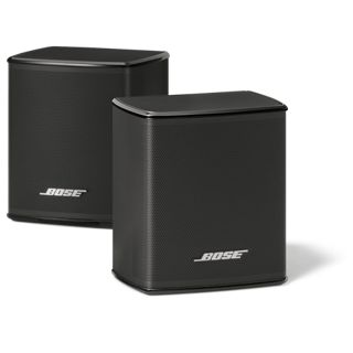Turn a living room into a theater with Bose Virtually Invisible 300 wireless surround speakers. Pair these rear surround speakers to a SoundTouch 300 soundbar.