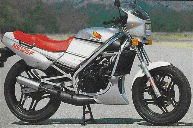 NS 125 F - Honda - (80s)