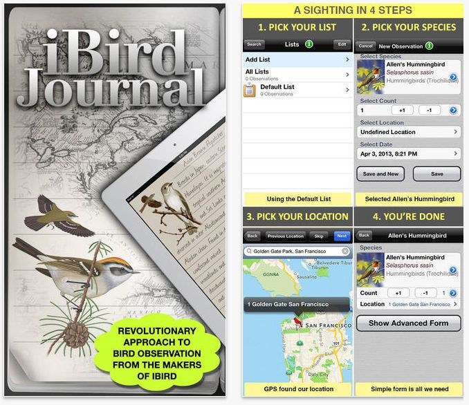 Ready to take birding to a whole new level? In development for over two years, iBird Journal is the first sighting app designed to make list...