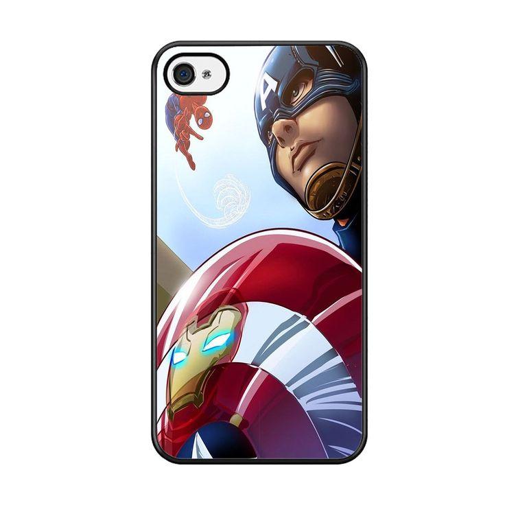 Marvel Avengers Spiderman Civil War For Iphone 5C