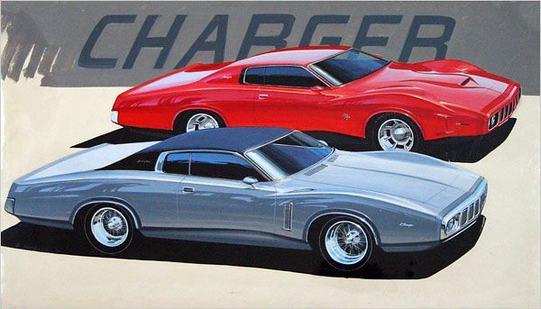 Sketches of optimism from detroit s glory days dean s for Garage concept auto
