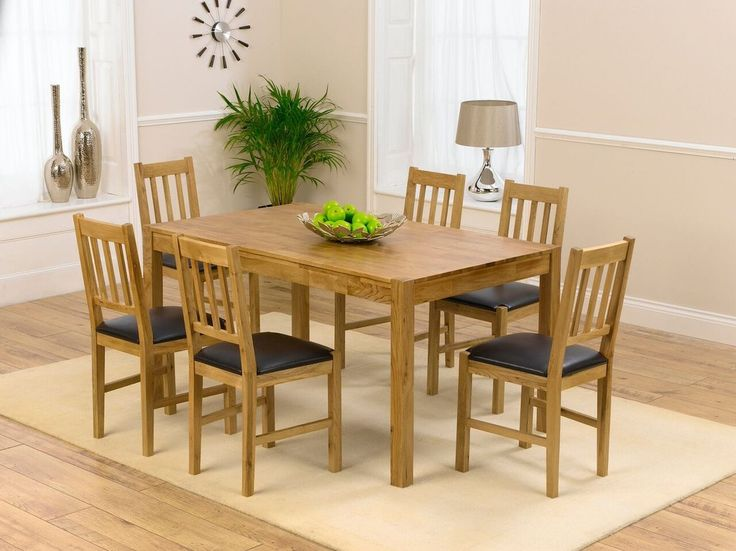 Shop The Oxford Solid Oak Dining Table With Chairs At Furniture Superstore Quick Delivery APR Available