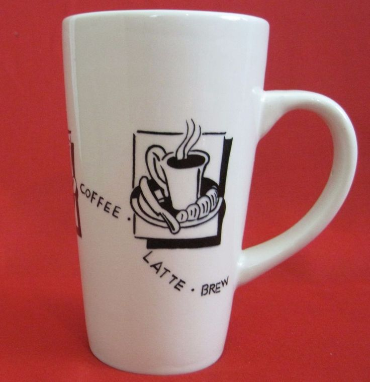 1000 ideas about tall coffee mugs on pinterest for Heavy ceramic coffee mugs