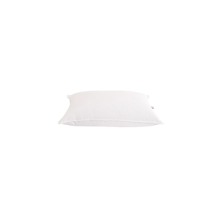 25/75 White Goose Down & Feather Blend Hotel Pillow (Queen) White - Downlite