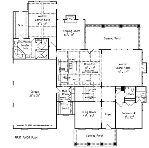 17 best images about house plans on pinterest house for Windsong project floor plan