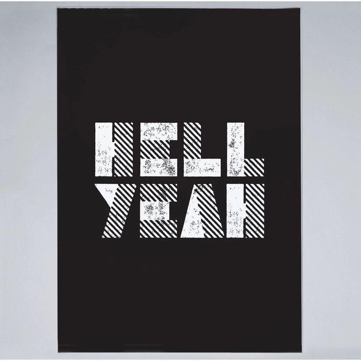 Hell Yeah - Print