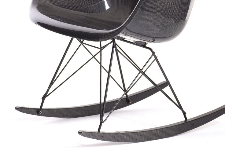 Carbon Fiber Eames rocker RAREames Press, Recreation Eames, Eames Rocker, Eames Fiberglass, Fiber Eames