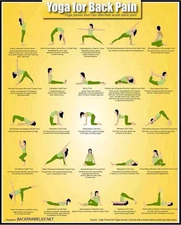 Yoga Exercise For Bad Backs