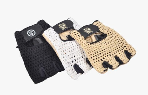 BLB knitted cycling gloves
