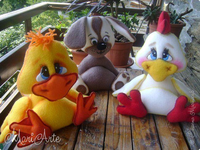 Забавные игрушки из флиса. Выкройки. источник: http://stranamasterov.ru/node/1040983?tid=451