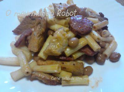 O meu mundo Robot: Actifry - Carne salteada com macarrão (aproveitame...