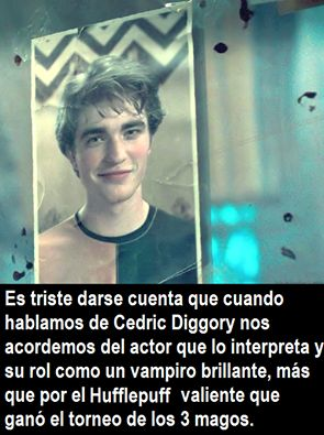 ¡Se llama Cedric Diggory, chinga! | 23 Imágenes que resumen lo que es ser un Potterhead de corazón
