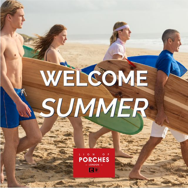Welcome Summer, Welcome Happiness! www.lionofporches.com