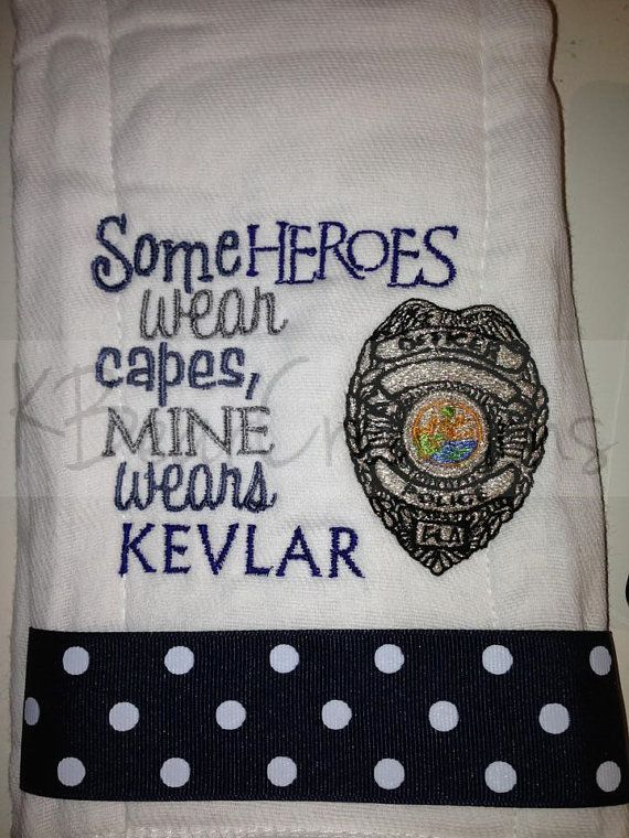 Some Heroes wear capes, mine wears kevlar officer badge Florida. Alabama, Military Police, Miami Police, South Carolina on Etsy, $14.99