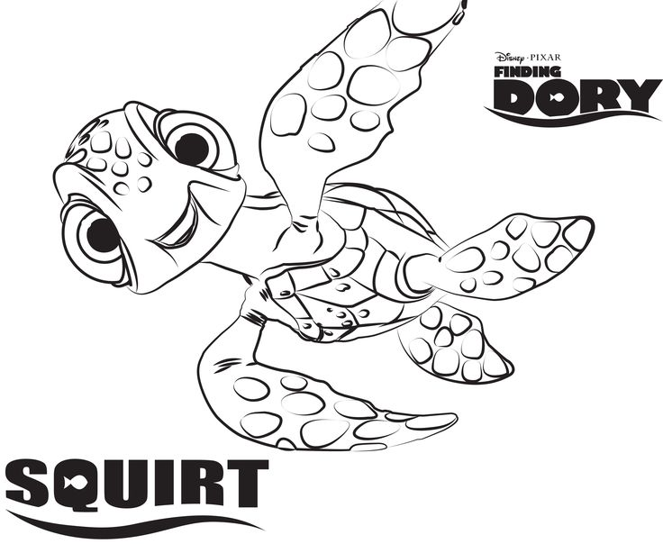 disneys finding dory coloring pages sheet free disney printable finding dory color page - Pixar Coloring Pages Finding Nemo