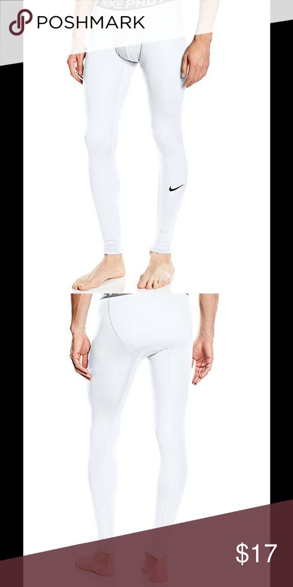 Nike Men's Pro Cool Compression Tights Polyester spandex, Nike Pro Cool fabric keeps you cool when the action heats up. Compression fit provides support. Mesh on inner leg gussets allow for ventilation in high heat zones. Nike Other