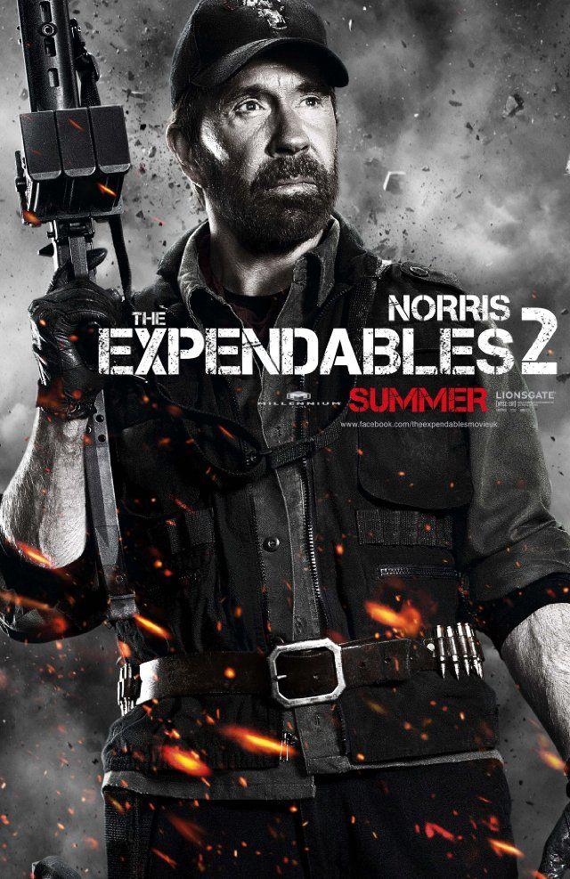 Titel: The Expendables 2  Namen: Chuck Norris