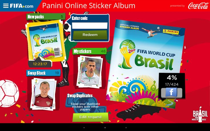 Panini Online Sticker Album App-Panini Sticker Albums were a rage in their time, but now the same fun has come to your mobile as well! The app allows you to collect FIFA World Cup stickers every day, expanding your collection.