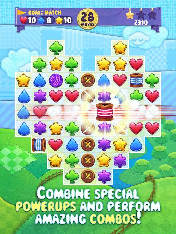 Fluffy Shuffle Match3 Game screenshot Match 3 games