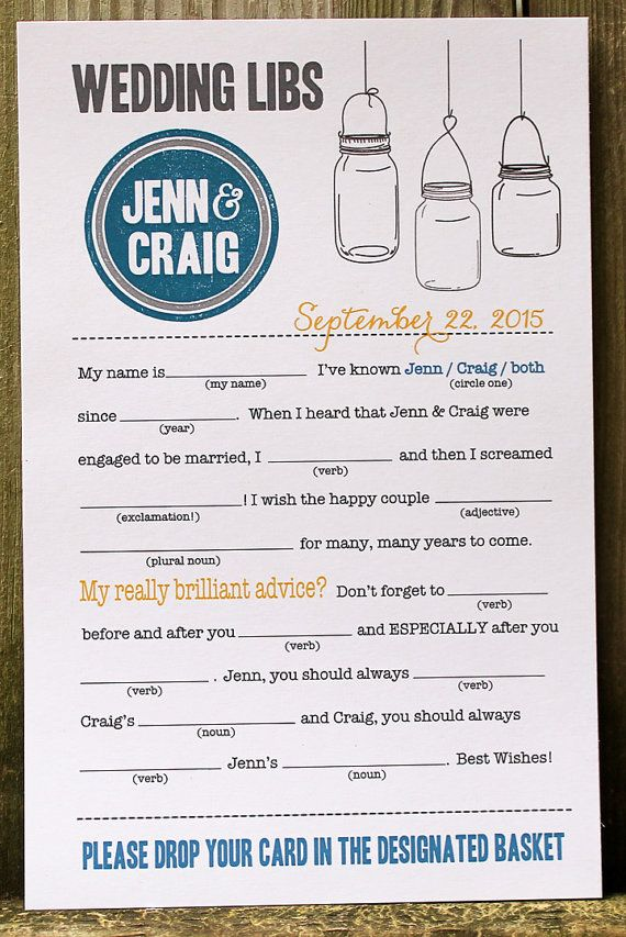 7 Guest Book Mistakes to Avoid via Emmaline Bride - Tips for your Guest Book! (guest book mad lib cards: camis paperie)