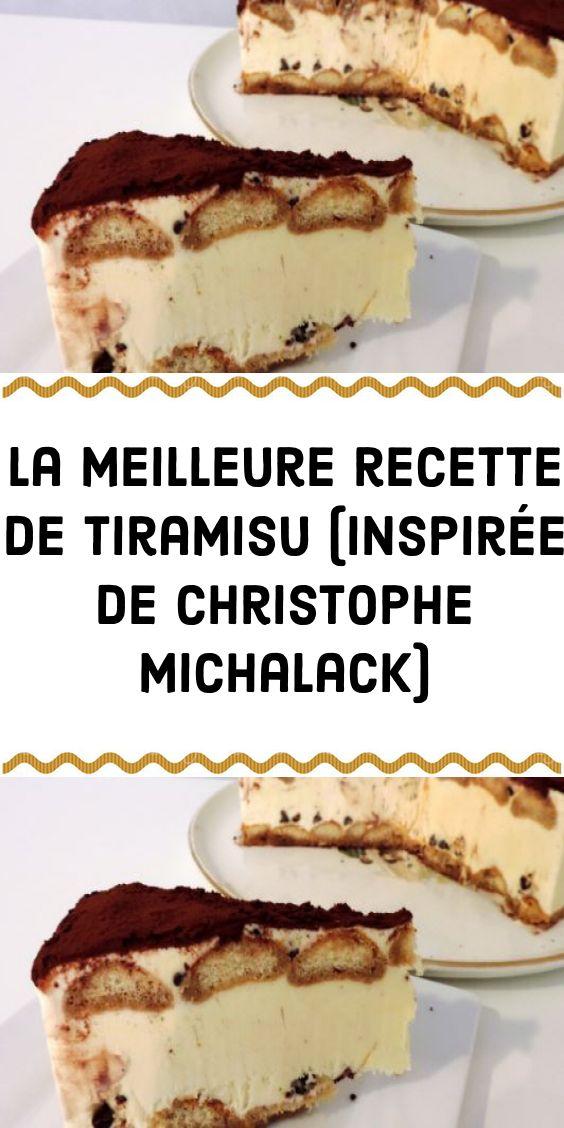 La meilleure recette de tiramisu (inspirée de Christophe Michalack)