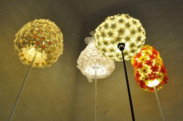 pLAST pLEVEL - PET bottles lights - Bratislava Designweekend exhibition